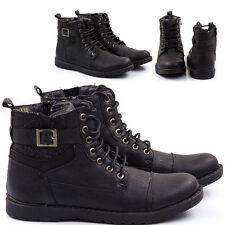 Stivali Stivaletti Scarpe Uomo Pelle PU Polacchini Anfibi Sneakers Camperos S43