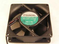 Sunon Fan KD1208PTB1-6 80mm x 80mm x 25mm 12VDC 2.6W OL0412