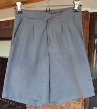 Boys Grey School Shorts Size 10