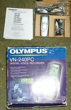 Olympus Dictaphone VN-240PC Digital Voice Recorder & Boxed