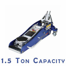 Performance Tool W1601 1.5 Ton Capacity Aluminum Floor Jack and Jack Stands 3,000 lbs.