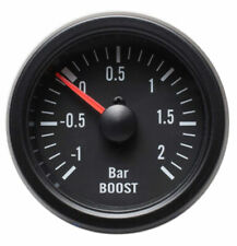 Black Rim Mechanical Boost Gauge (2 BAR)