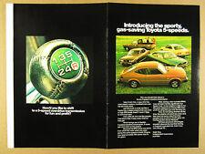 1975 Toyota Celica GT Corolla Corona & Pickup Truck SR5 8 page vintage print Ad