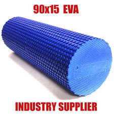 90x15cm EVA PHYSIO FOAM ROLLER | YOGA PILATES BACK GYM EXERCISE TRIGGER POINT
