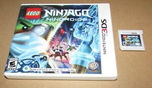 LEGO Ninjago: Nindroids for Nintendo 3DS Fast Shipping