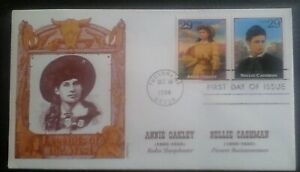 First day of issue, 1994 Legends of the West, Dual-franked, Scott # 2869 d & k