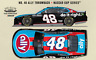 2020 JIMMIE JOHNSON #48 ALLY DARLINGTON TRIBUTE THROWBACK ZL1 1/24 IN STOCK RARE