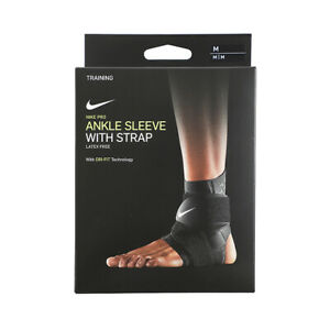 Nike Pro Ankle Sleeve With Strap Black DA7067-010