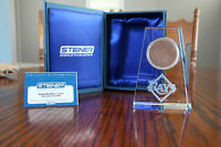 Steiner Sports COA MLB Tampa Bay Rays Taper Crystal w/ Game Used Dirt