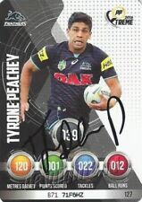Autograph Penrith Panthers 2016 Season NRL & Rugby League Trading Cards
