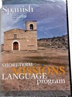 Spanish Short Term Missions Language Program CD and Pocket-Size Phrase Book NEW