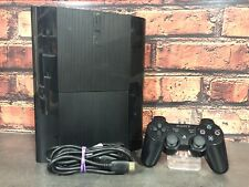 CONSOLA + MANDO + CABLES - SONY - PS3 SUPER SLIM - 500GB - NEGRA
