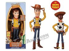 """Disney Store Toy Story 4 INTERACTIVE TALKING WOODY 15"""" 10+ Phrases NEW PIXAR"""