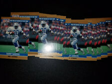 Lot of (22)  1989 Pro Set Rookie of the Year   Barry Sanders #1    Detroit Lions