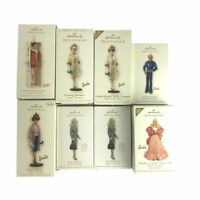 Hallmark Keepsake Barbie and Ken Ornaments Christmas Xmas Lot of 8