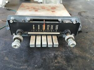66 FORD GALAXIE 500XL XL500 AM RADIO OEM FOMOCO W/ KNOBS PUSH BUTTONS