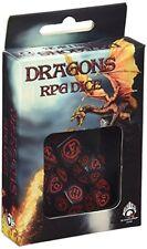 Q-Workshop QWODRA06 Dragon Dice BlackRed 7 Game Accessory