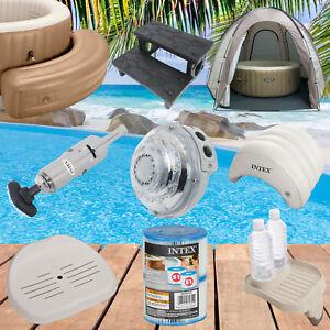 Intex Zubehör für Whirlpool  SPa Bubble LED Treppe Sitz Filter Pool aufblasbar