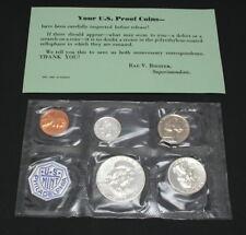 1959 U.S. Philadelphia Proof Coin Set with Envelope