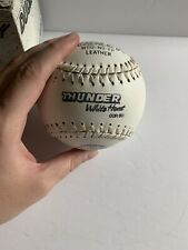 Dudley White Thunder Softball New With Box