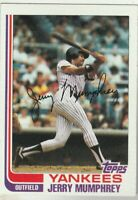 FREE SHIPPING-MINT-1982 Topps #175 Jerry Mumphrey Yankees PLUS BONUS CARDS