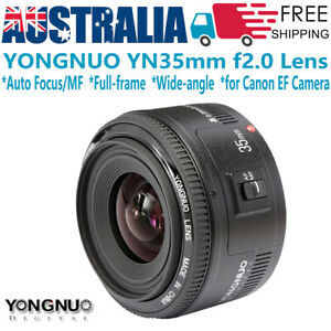 Yongnuo YN 35mm F2 Wide-angle Full-frame Lens Auto Focus /MF for Canon EOS Z CAM