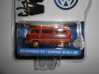 VOLKSWAGEN T2 TYPE 2 BUS CHAMPAGNE EDITION II V-DUBS S2 GREENLIGHT 1:64