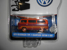 VOLKSWAGEN T2 TYPE 2 BUS CHAMPAGNE EDITION II V-DUBS GREENLIGHT 1:64