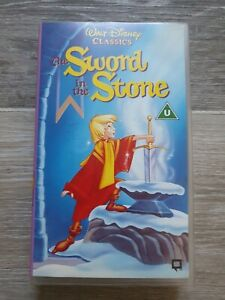 DISNEY - THE SWORD IN THE STONE - VHS VIDEO
