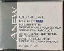 AVON Anew CLINICAL Eye Lift PRO DUAL EYE SYSTEM Upper Gel & Lower Cream New