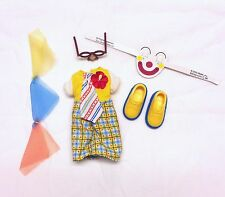 Barbie Kelly Tommy doll clothes Halloween Clown Costume Shoes & Accessories New