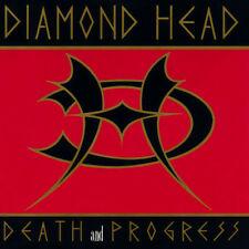 Diamond Head -CD- Death And Progress -1993 Essential Records ESS CD 192