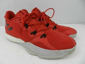 Adidas Crazy Light Boost 2 'Scarlet' Men's Basketball Shoes Size 14 (DB1069)