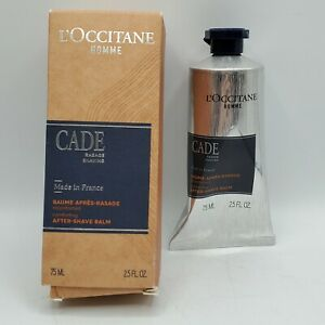 L'Occitane Soothing Cade After Shave Balm 2.5 Fl Oz