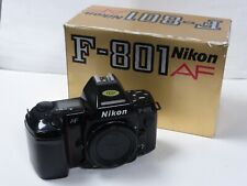 Nikon F-801 35mm af film body Nikon F801 body boxed