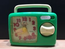 VTG 80's iLLCO MUPPETS Sesame Street BIG BIRD Wind Up MUSICAL Toy Clock Radio