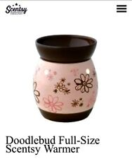 1 SCENTSY Doodle Bud Full Size Warmer RARE Discontinued Item HTF