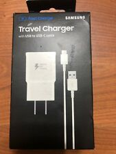 Samsung Fast Charger Travel Charger with USB-C Cable for Galaxy S9 / S9+ Note 8