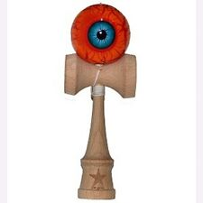 Double Eye Orange Super Kendama,Super Sticky,USA Free Shipping,USA SELLER