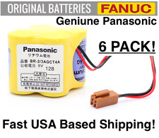 6 PACK PANASONIC BR-2/3AGCT4A High Capacity / Fanuc A98L-0031-0025 FAST USA SHIP