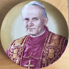 Sammelteller Papst Johannes Paul II. - Tirschenreuth Porzellan - Rarität