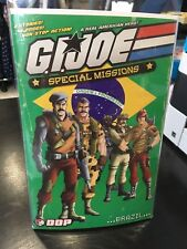 GI JOE SPECIAL MISSIONS BRAZIL WEBSTORE EXCLUSIVE COVER 500 SIGNED BY AUTHOR DDP