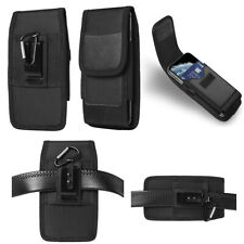 New Vertical Cell Phone Holster Pouch Card Slot Waist Bag Belt Clip Wallet Case