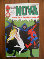 Semic MARVEL DC Comics FRANCE Spiderman BD LUG Super Heros NOVA n°80 Sept 1984