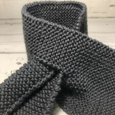 Hand knitted kids wrap scarves, THREE COLOURS, TWO SIZES