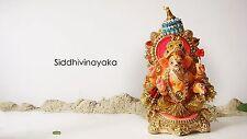 Green Junction Eco-Friendly ,Biodegradable Ganpati Ganesha Idol (Fully Adorned)