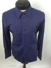 """Express Mens Dress Shirt Modern Fit Large 16-16 1/2"""" Cotton Stretch"""