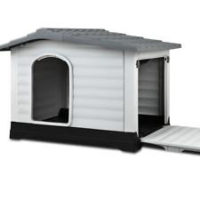 i.Pet Extra Extra Large Pet Kennel - Grey