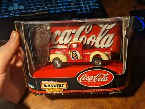 Matchbox Collectibles Coca Cola 1940 Ford Pickup Truck Ute Model Car