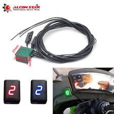 Universal Motor cycle Digital Gear Indicator LED Display Shift Level Sensor
